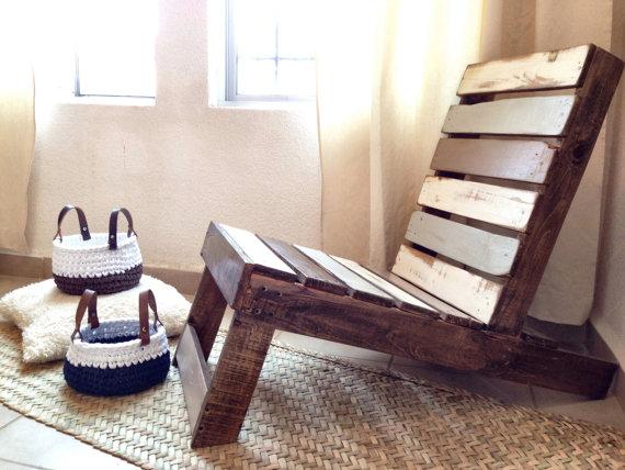 Troncos palets y tablas para r sticos sillones y bancos for Asientos para palets