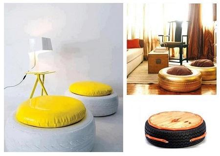 C mo reciclar y constru r un sill n con material de - Reciclar muebles usados ...