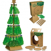 decoracion-navidena-con-materiales-reciclados-arbol-navidad-botellas-plastico