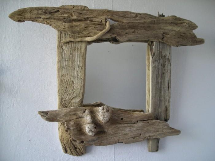 espejos con madera a la deriva