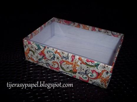 Caja reciclada 2b