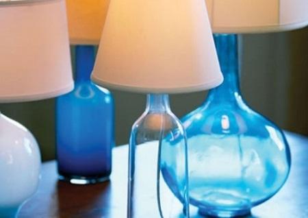 Lámparas con Botellas de Vidrio Reutilizadas, Accesorios Sostenibles para el Hogar2