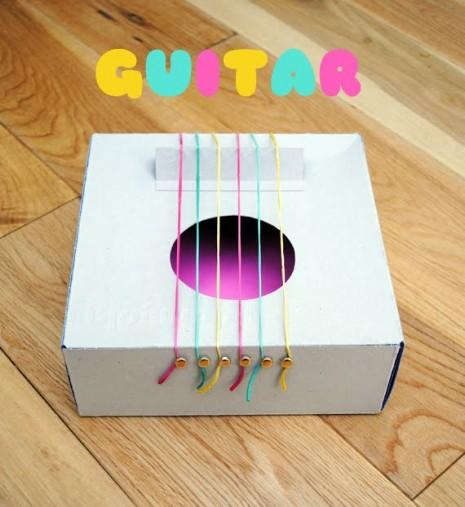 COMO Hacer una guitarra casera