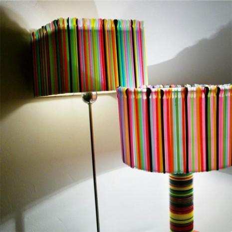 L mparas recicladas 45 ideas originales para hacer - Lamparas de decoracion ...