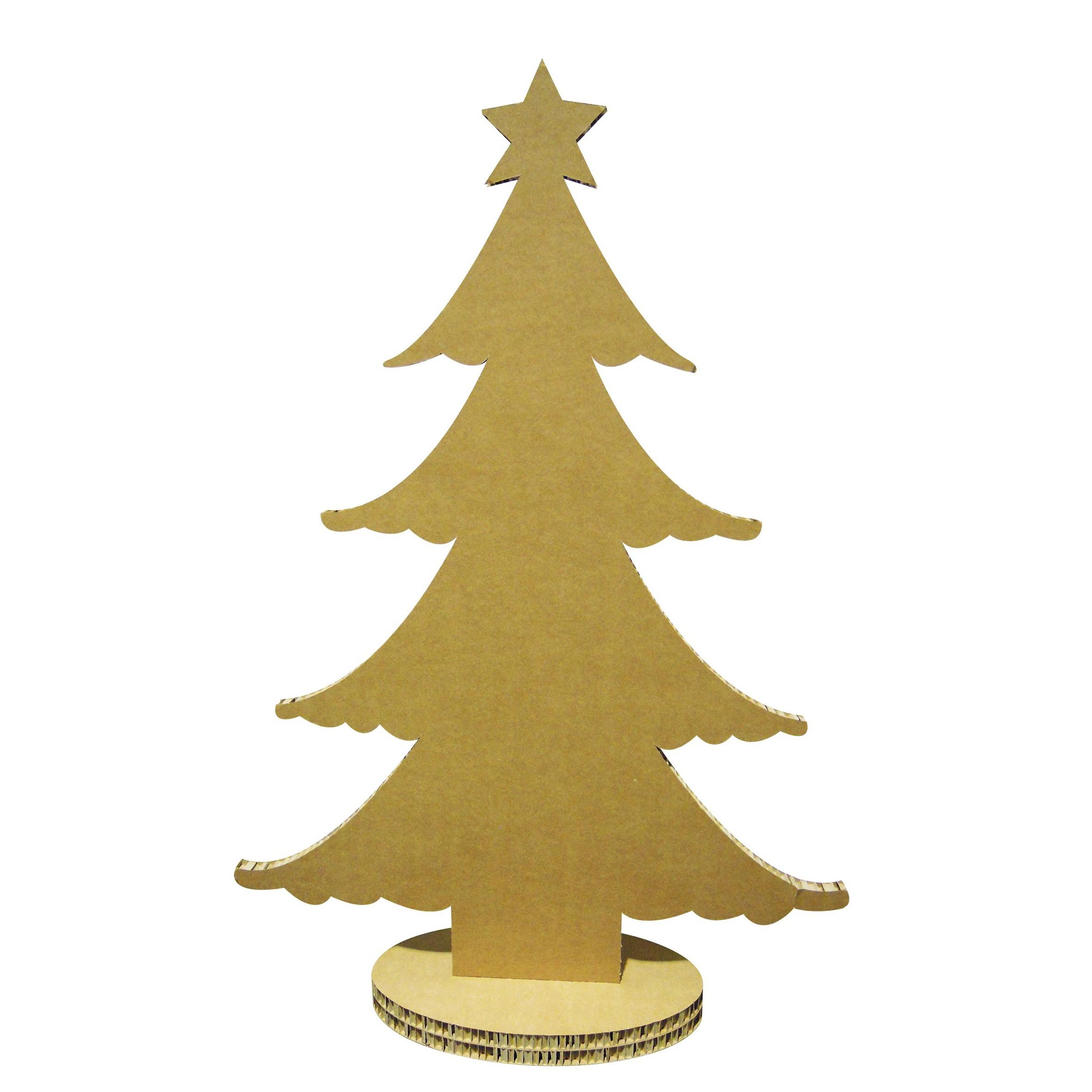Rboles de navidad con materiales reciclados caseros for Arbol de navidad con cajas de carton