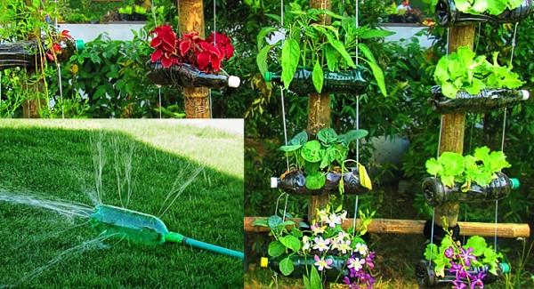 Que cosas podemos hacer con los productos reciclables for Casas de plastico para jardin mexico