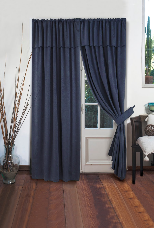 C mo hacer cortinas reciclando los jeans viejos ecolog a hoy - Dobladillo cortinas ...
