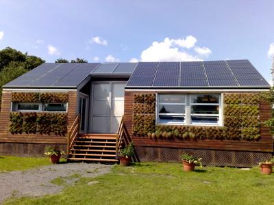 Ideas de viviendas ecol gicas para cuidar al medioambiente - Casas prefabricadas ecologicas ...
