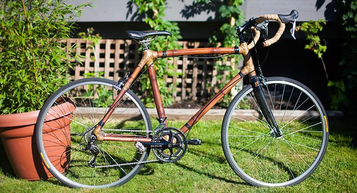 ideas ecolgicas y divertidas bicicleta hecha de caa de bamb