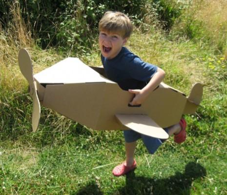 Paperpod-Aeroplane
