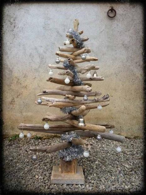 decoracion arbol de navidad rustico 600x804
