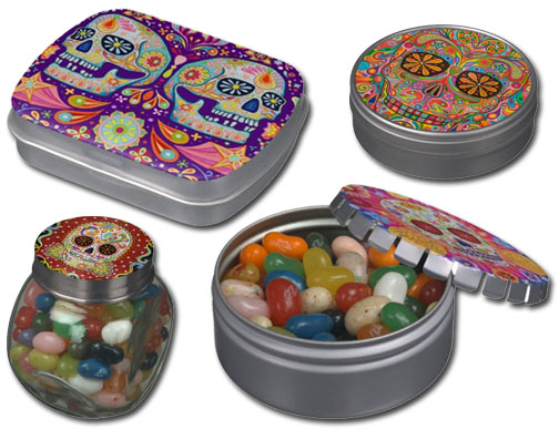 sugar-skull-candy-tins