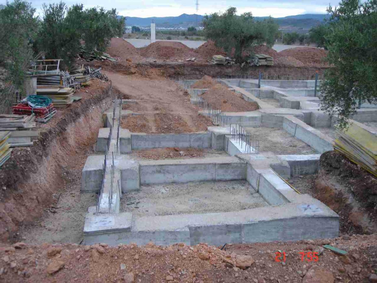 Cimientos de casas - Construccion de una casa ...