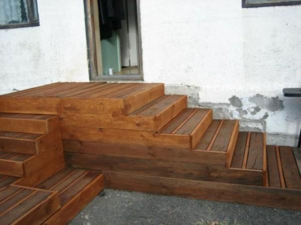 otros modelos de escaleras con palets