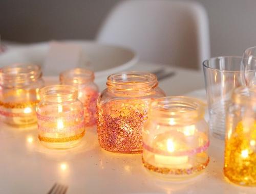 Frascos de vidrios reciclado para decorar en Navidad: + 30 ideas ...