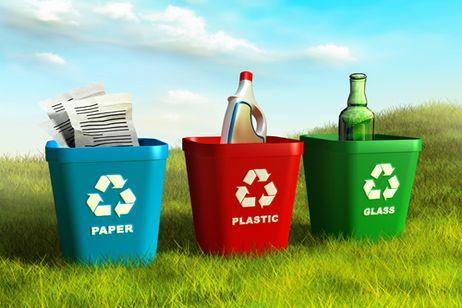 sepa lo que objetos y materiales pueden ser reciclados