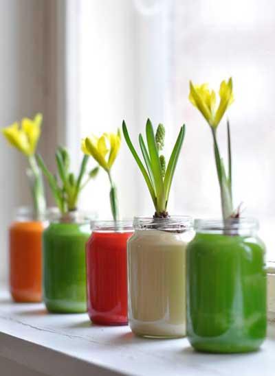 Ideas tiles para reciclar frascos de vidrio y darles uso - Como poner fibra de vidrio ...