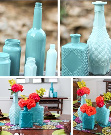 Ideas Para Decorar Botellas Y Tarro De Cristal