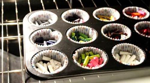 Cómo hacer nuevos crayones reciclando viejos crayones? ideas de ...