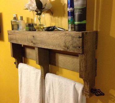 Baños decorados económicos reciclando palets: 30 ideas para baños ...