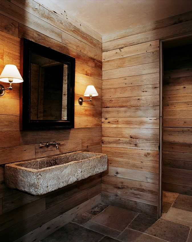 Muebles Para Baño Hechos Con Palets:Barn Wood Bathroom Design Ideas