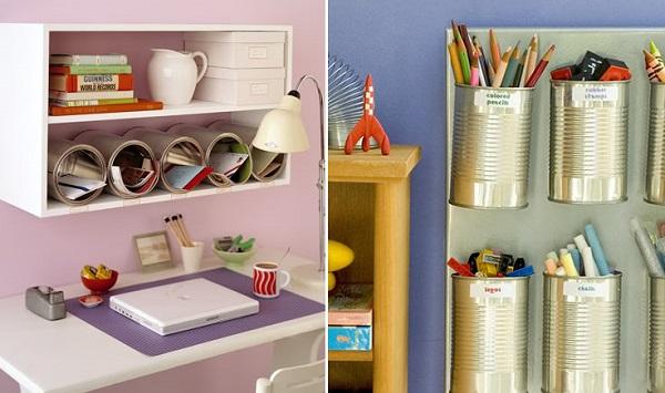 Armar estantes reutilizando viejos cajones ideas - Estantes reciclados ...