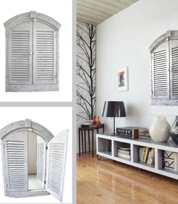 66 ideas originales ventanas y puertas recicladas for Decorar puertas viejas de interior