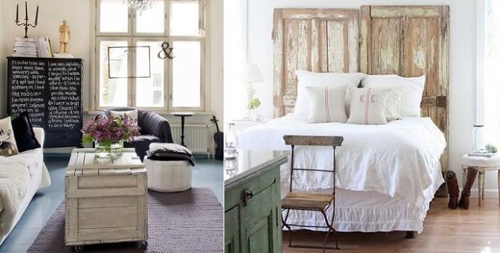 66 ideas originales ventanas y puertas recicladas - Muebles originales reciclados ...