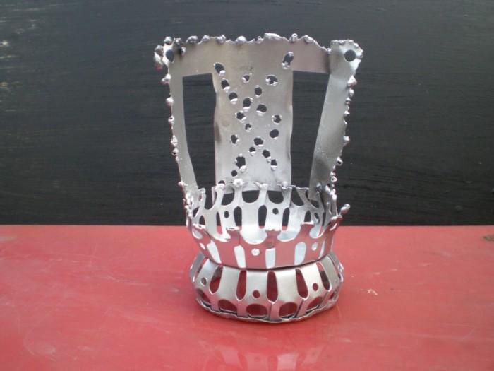 Arte con metal reciclado: ideas para reciclar basura de metal ...
