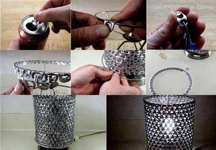 Arte con metal reciclado ideas para reciclar basura de for Que se puede cocinar hoy