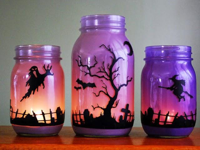 vidrio10 Ideas para Reciclar Frascos de Vidrio en Halloween, II Parte91
