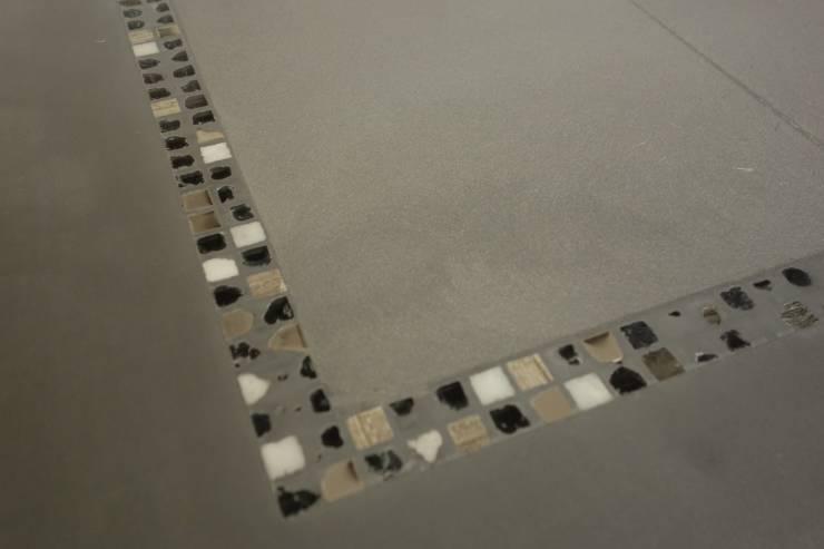 Decoraci n de pisos con trozos de cer mica im genes for Con que se limpia el marmol blanco