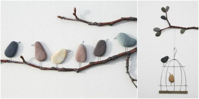 Piedras ideas novedosas para hacer con piedras ecolog a hoy - Cuadros con piedras ...
