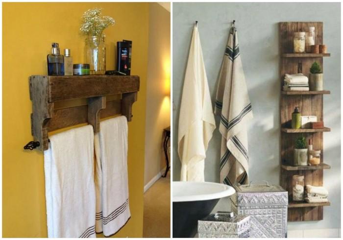 Estantes Para Baño Economicas: , con ideas para decorar el baño con muebles de palets reciclados