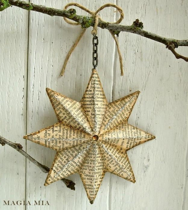 Ideas para hacer adornos con reciclaje para decoraci n for Cosas navidenas para hacer en casa
