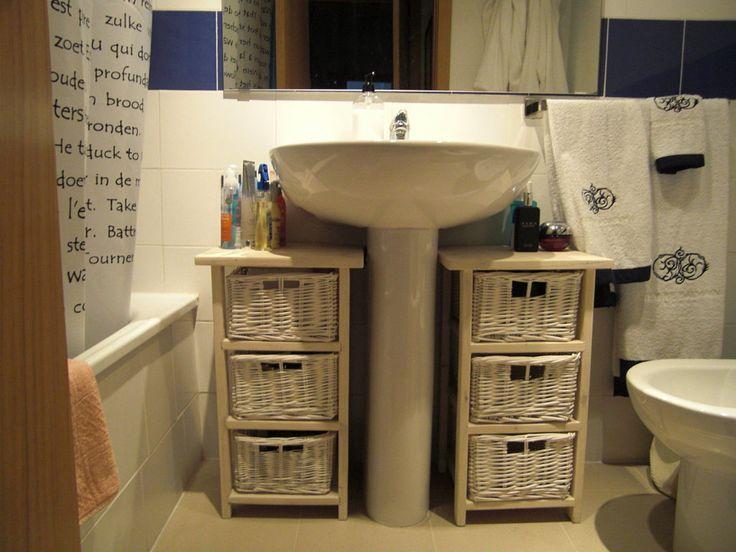 Ideas para decorar el ba o con muebles de palets for Muebles de jardin con palets reciclados
