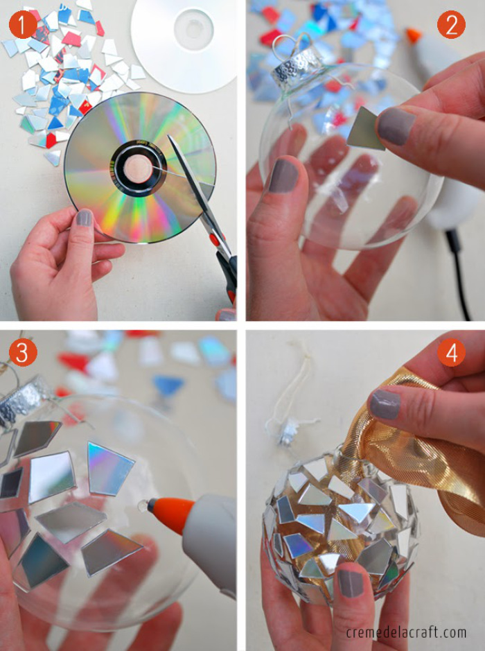 Ideas para hacer adornos con reciclaje para decoraci n - Adornos navidenos para hacer en casa ...
