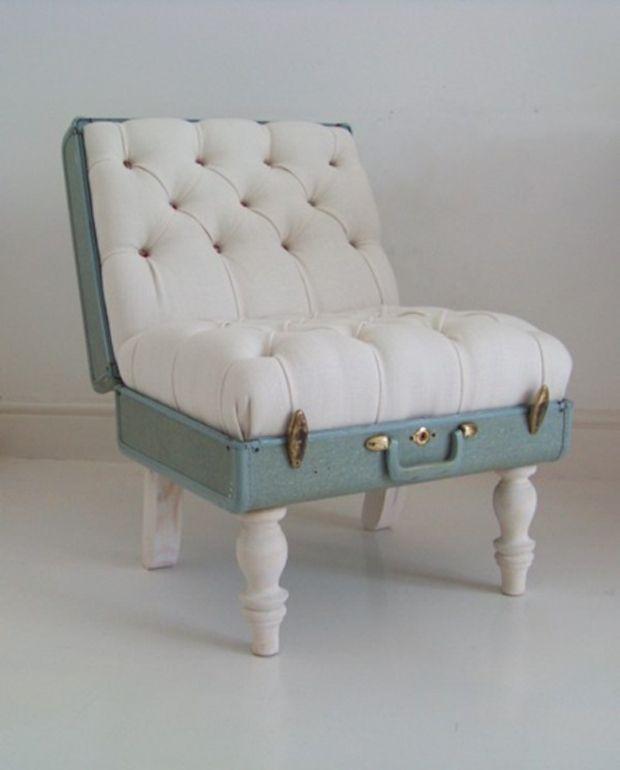 C mo reciclar y constru r un sill n con material de for Como hacer un sillon con una cama