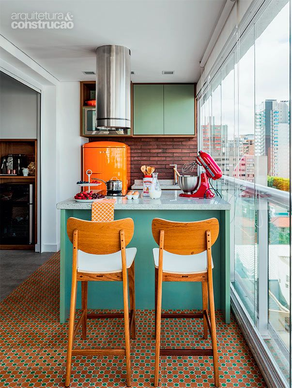 Imagenes con ideas para decorar la cocina moderna con materiales ...