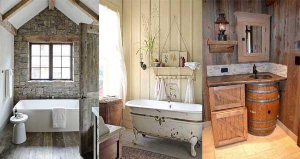 Ideas para decorar el ba o con muebles de palets - Cuartos de bano rusticos fotos ...