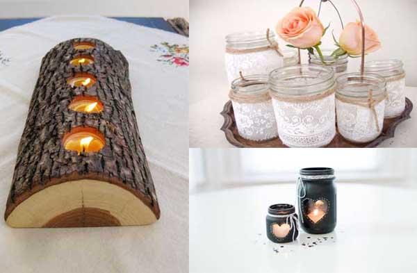 Imagenes con ideas para decorar la cocina moderna con for Decorar el jardin con cosas recicladas