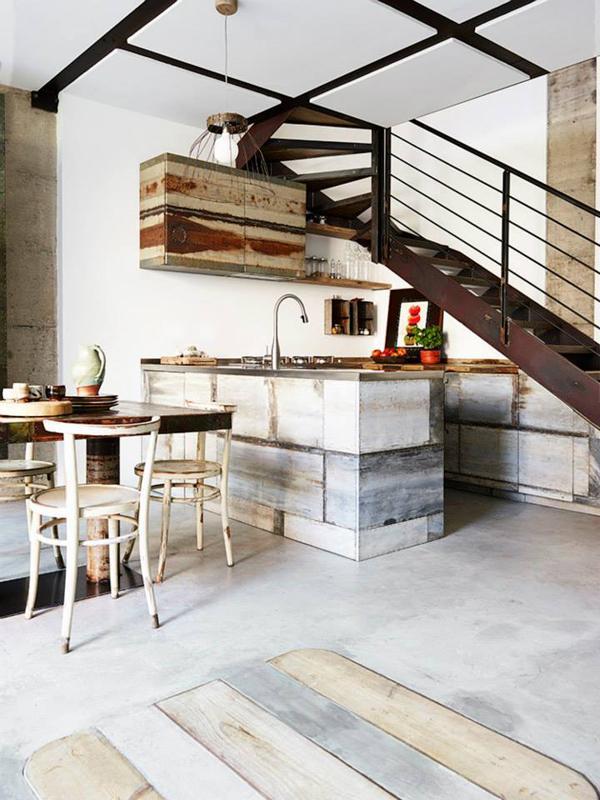 Imagenes con ideas para decorar la cocina moderna con - Material para cocinas modernas ...