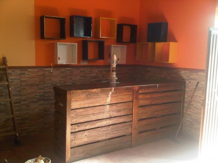 Im genes de muebles hechos con palets reciclados - Como hacer sillon de palets ...