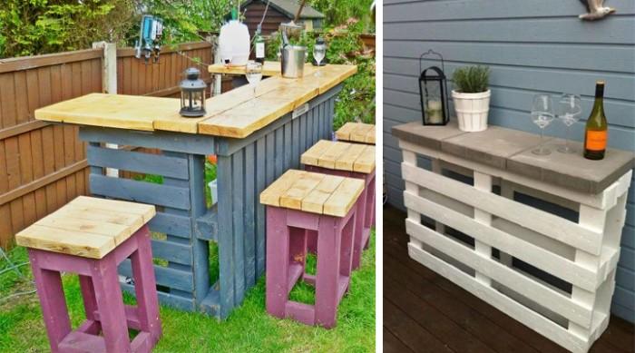 Imágenes de muebles hechos con palets reciclados – Ecología Hoy