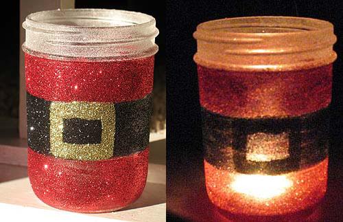 Decoracion Reciclada Navide?a ~ Estos frascos son especiales para dar a cualquier rinc?n navide?o un