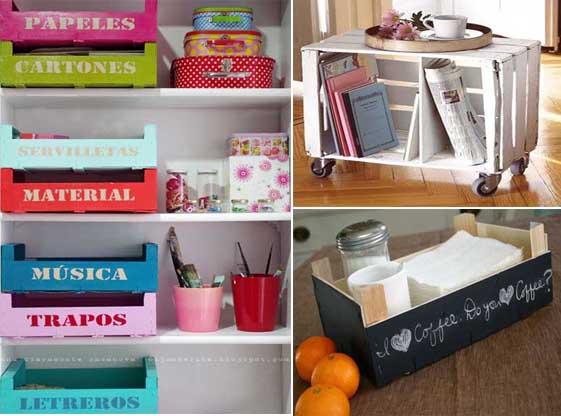 Organizador para baño reciclado ~ dikidu.com