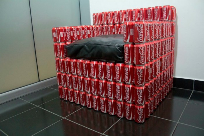 Asientos y sillones con cosas recicladas ideas ecol gicas - Tapizado de sillas paso a paso ...
