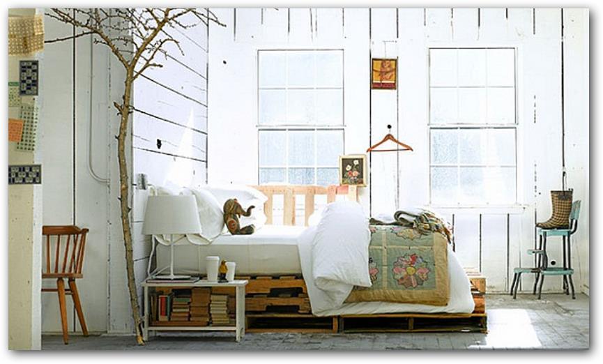 Fabricar-una-cama-con-palets