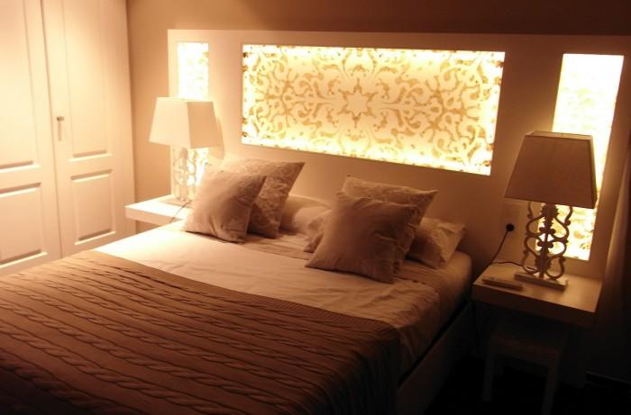 Decoracion de cuartos con material reciclable ideas - Modelos de cabeceros de cama ...