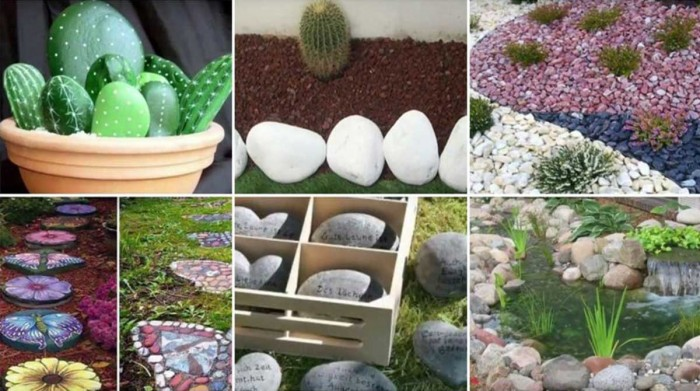 Hermosas ideas para decorar con piedras la casa ecolog a hoy for Ideas originales para casa